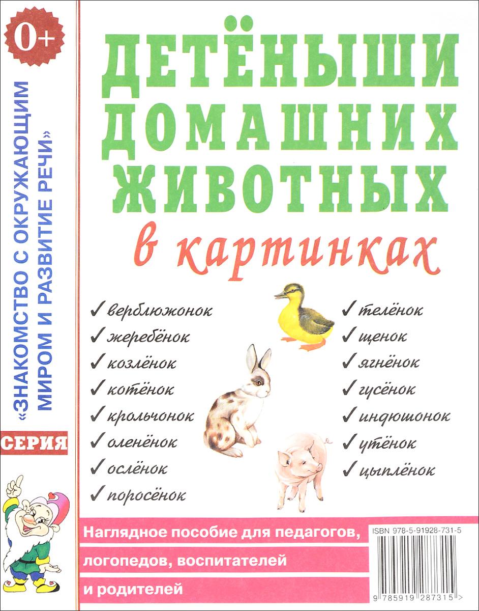 Детеныши домашних животных в картинках. Наглядное пособие для педагогов, логопедов, воспитателей ISBN: 978-5-91928-731-5 iphone 5 наглядное руководство