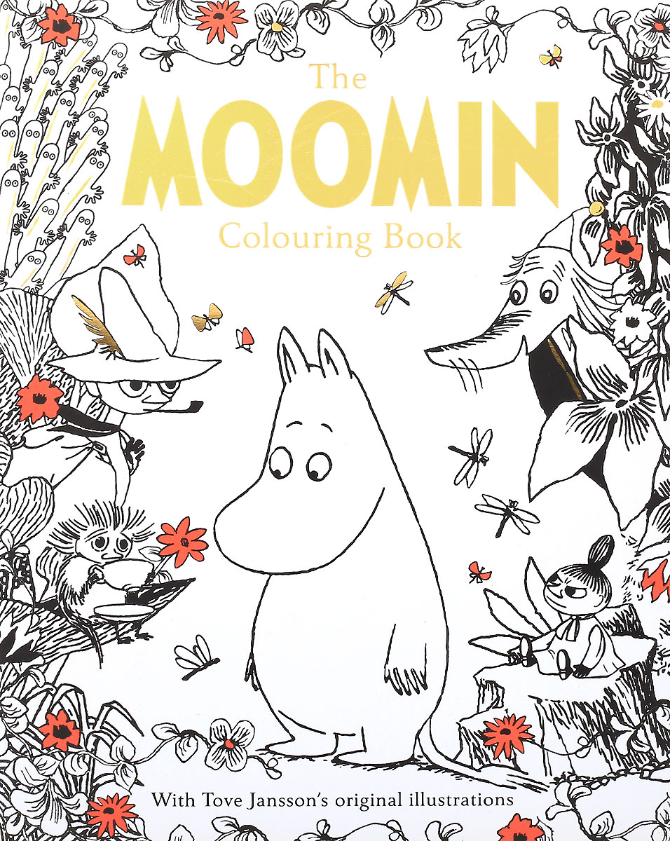The Moomin Colouring Book moomin book two