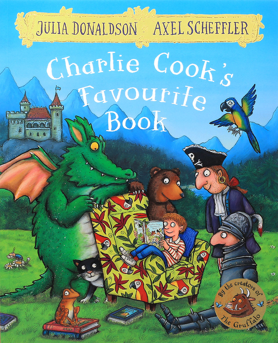 Charlie Cook's Favourite Book room on the broom big book