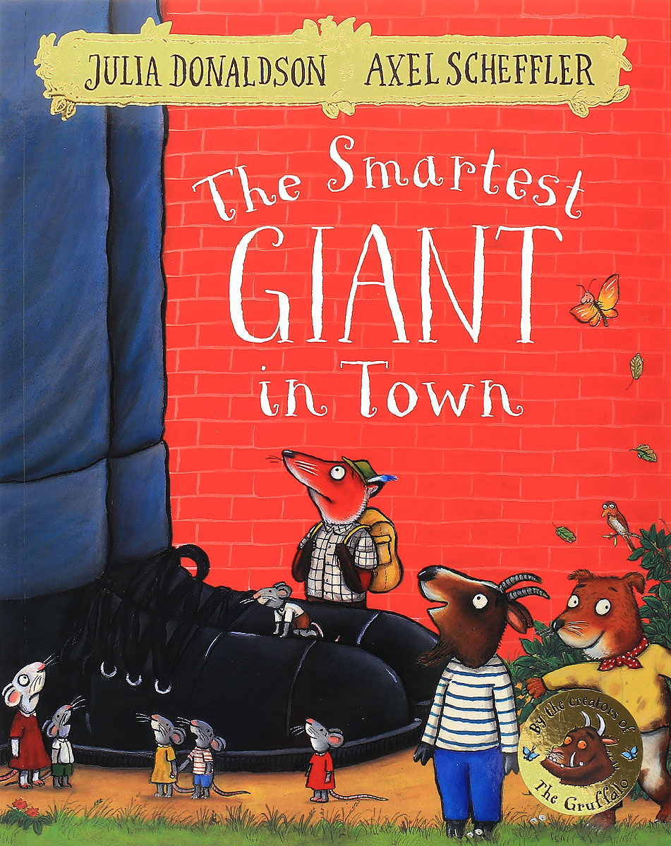 The Smartest Giant in Town the gruffalo s child sticker book