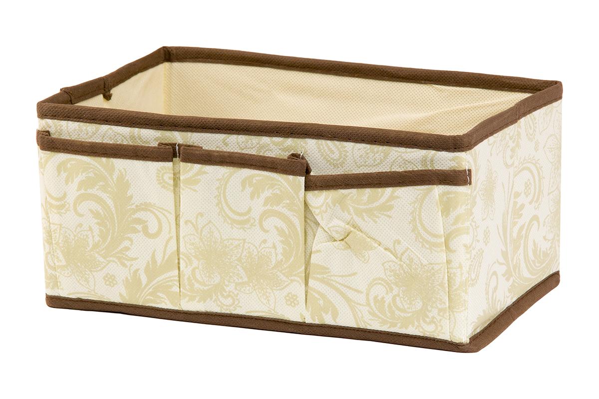 Органайзер для мелочей EL Casa Узор, 3 кармана, 25 х 15 х 12 см