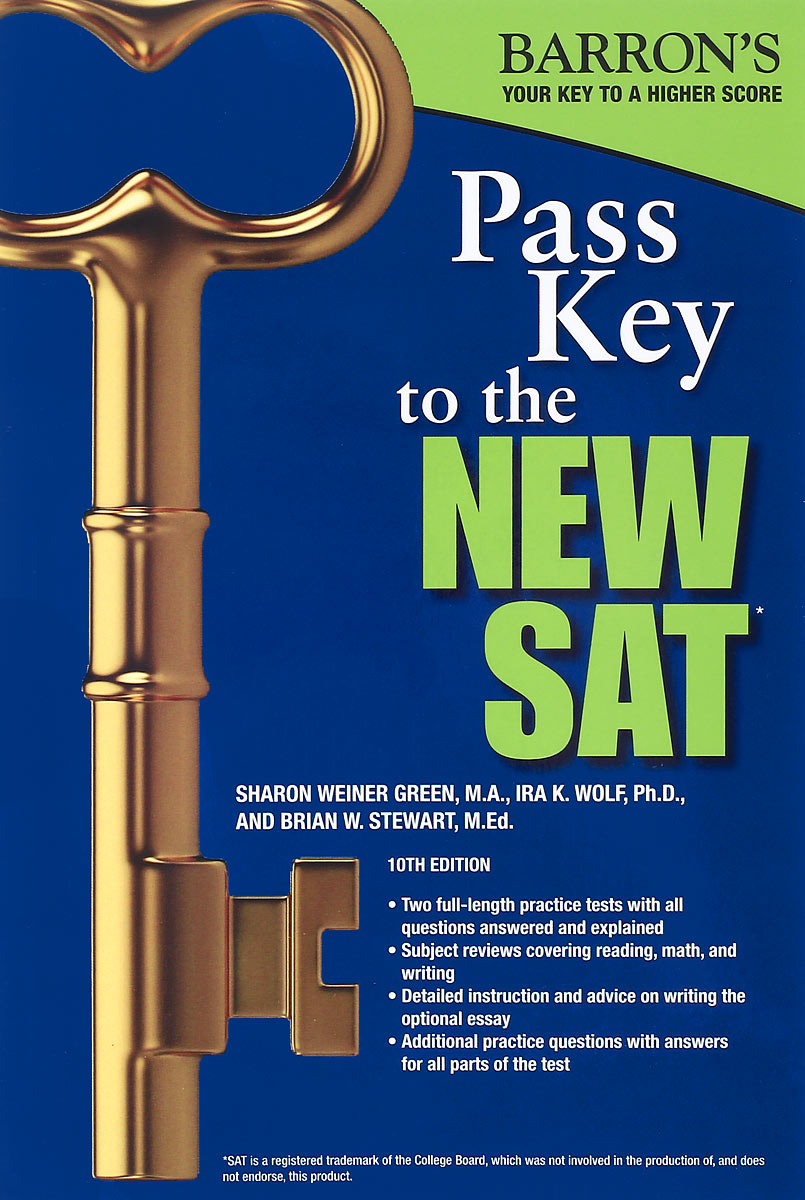 Pass Key to the New SAT donald smith j bond math the theory behind the formulas