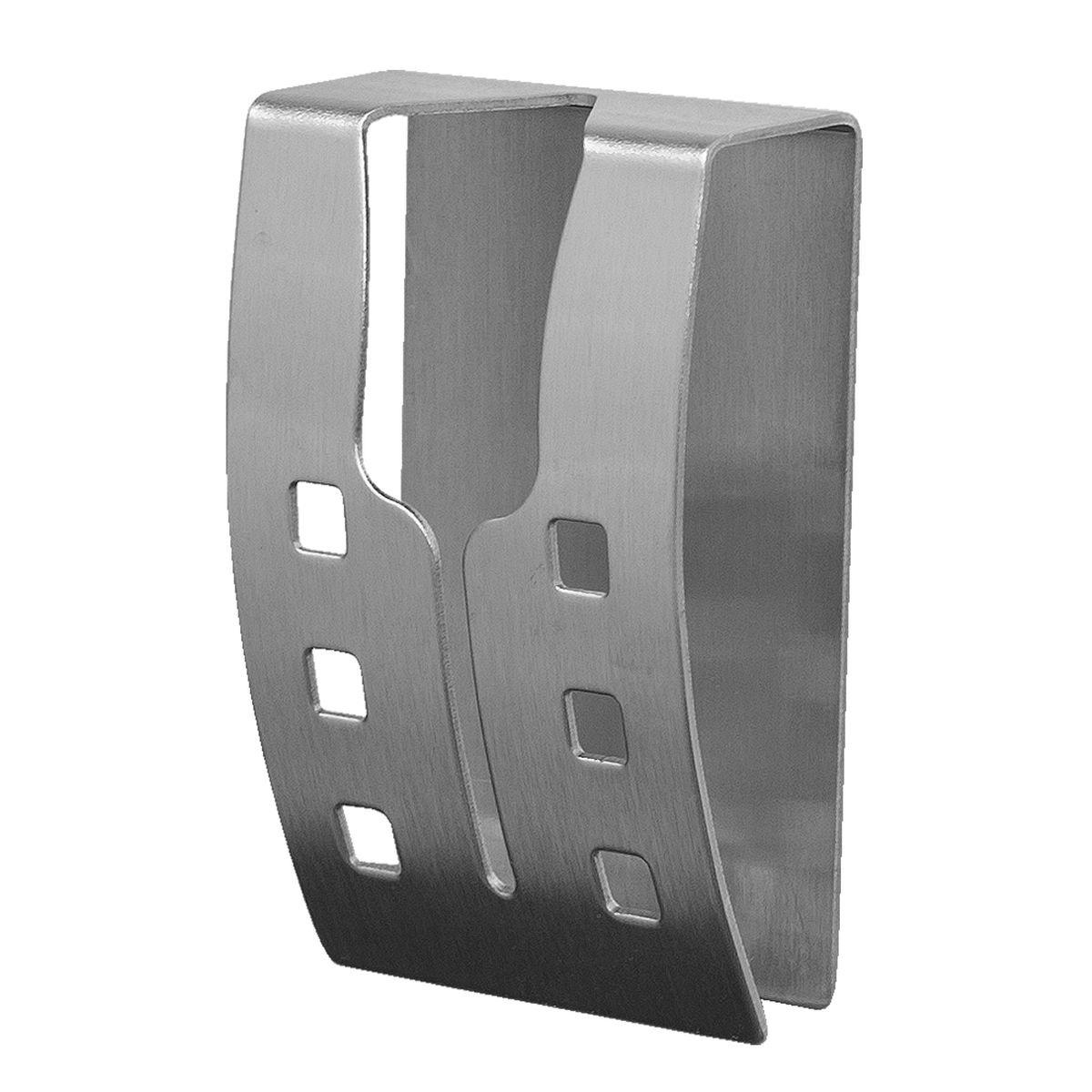 Вешалка самоклеящаяся Tatkraft Emma, для полотенец, 5 х 7,5 х 2 см11861Хромированная самоклеящаяся вешалка для полотенец Tatkraft Emma, изготовлена из нержавеющей стали. Вешалка с современным дизайном не боится влаги, и очень легко крепится к стене. Чтобы зафиксировать вешалку, не нужно сверлить дырки, достаточно снять защитный слой и прочно прижать вешалку к стене. Крепкая, оригинальная вешалка выдерживает вес до 5 кг.Размер вешалки: 5 см х 7,5 см х 2 см.Максимальная нагрузка: 5 кг.