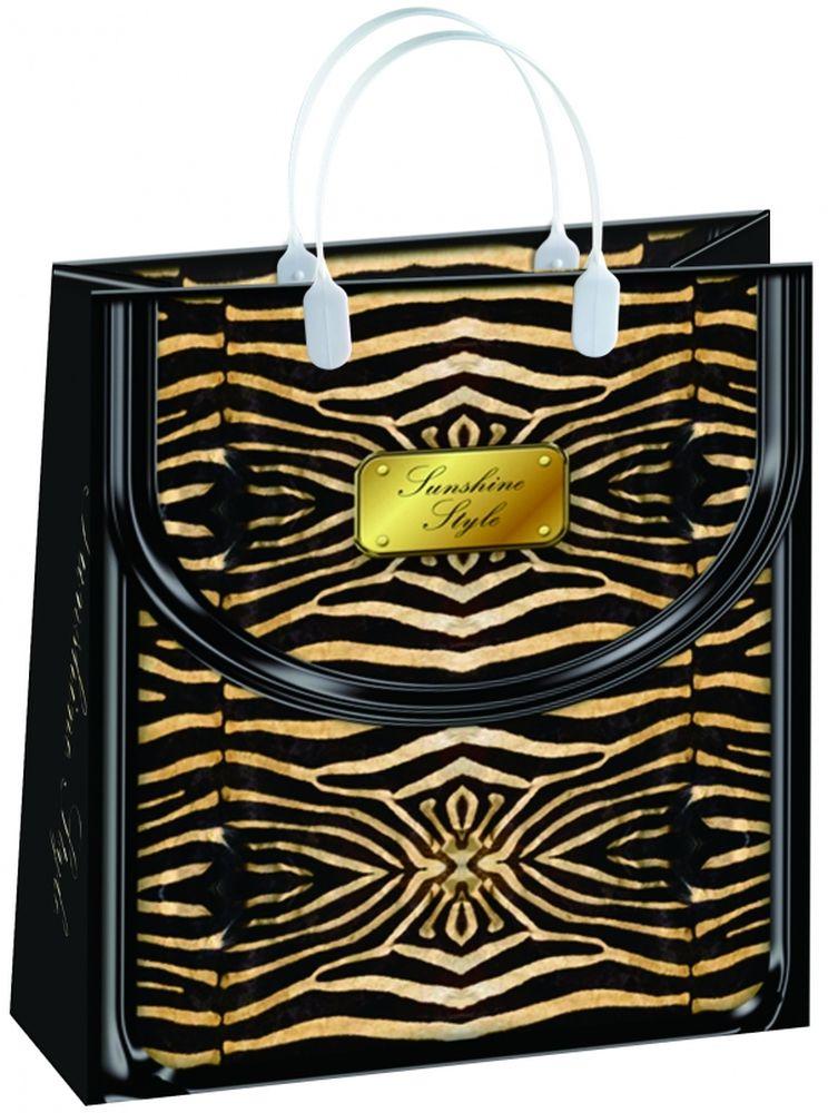 """Пакет подарочный """"Bello"""", 23 х 10 х 26 см. BAS 72"""