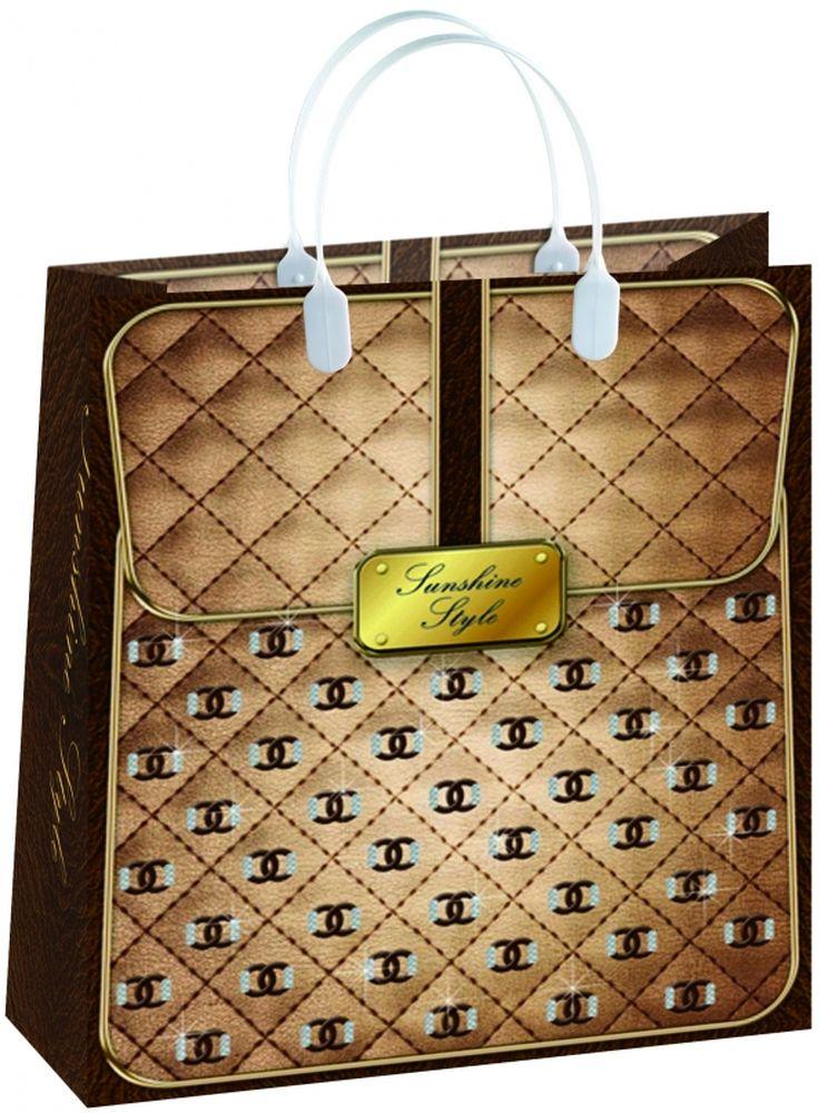 """Пакет подарочный """"Bello"""", 23 х 10 х 26 см. BAS 75"""