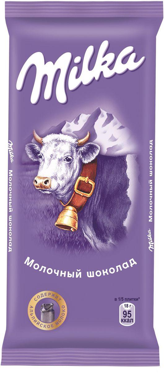Milka шоколад молочный, 90 г4021279, 400180917 ноября 1825 года швейцарский шоколатье и пекарь Филипп Сушард (1797-1884) открыл в Нушатель, Швейцария, пекарню, где он продавал десерты ручной работы. В течение следующего года производство стремительно расширялось, и фабрика была перенесена в соседний Серрер, в помещение, занимаемое ранее водяной мельницей; Филипп ежедневно продавал уже по 25-30 килограммов шоколада Milka.В течение 1890-ых в шоколадную продукцию Suchard начало добавляться молоко. Согласно Хорватским источникам, название для шоколадной продукции Милка было выбрано Филиппом в знак его страсти, почтения и симпатии к хорватской сопрано-певице Милке Терниной (1863-1941).В 1970 компания Suchard слилась со швейцарским производителем Toblerone, образовав этим слиянием Interfood. В 1982 Interfood была объединена с кофейной компанией Jacobs, превратившись в Jacobs Suchard, которая вскоре была приобретена, (включая бренд Milka), компанией Kraft Foods. В октябре 2012 года компания была переименована в Mondelez International.