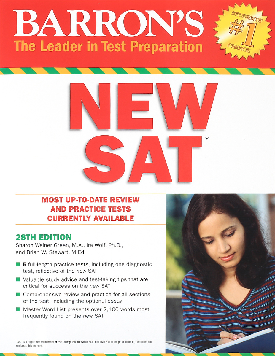 Barron's NEW SAT geer p 6 practice tests for the new sat 2nd edition
