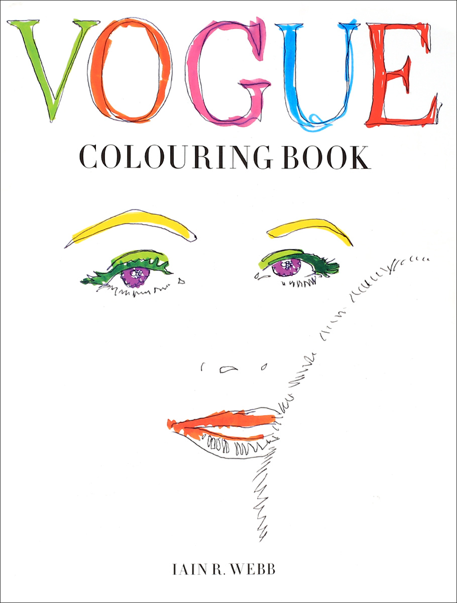 Vogue Colouring Book the colouring book of cards and envelopes – unicorns and rainbows