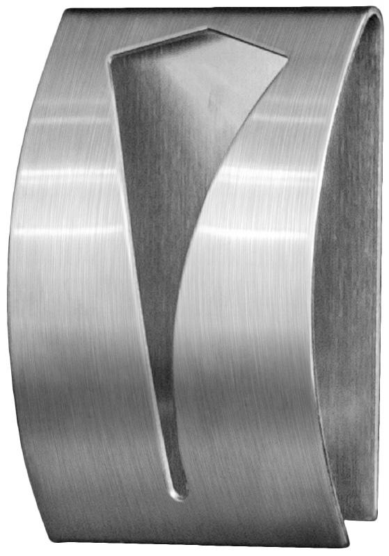 """Tatkraft """"Iris"""" - самоклеящаяся вешалка для полотенец из нержавеющей стали, которая не боится влаги. Она очень удобна в использовании.  Легкая установка (инструкция на упаковке), надежный клеевой слой, выдерживает вес до 5 кг."""