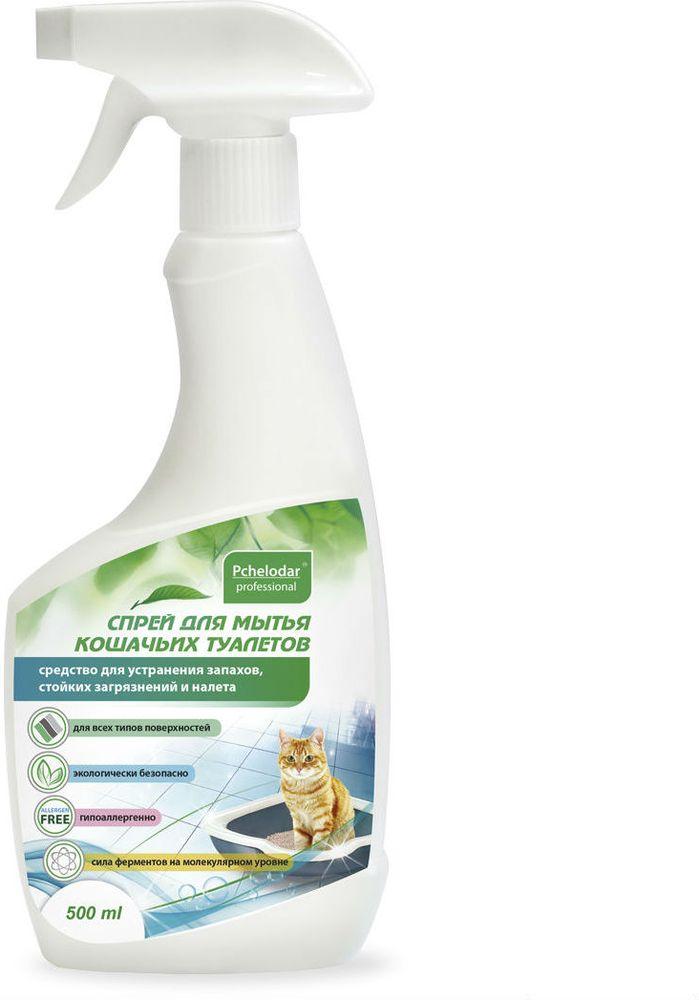 Спрей для мытья кошачьих туалетов Пчелодар, 500 мл