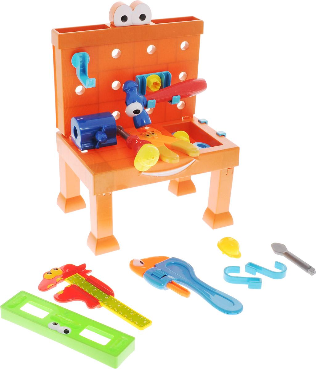 Boley Игровой набор Мастерская с рабочим столом уровнем и зажимом аксессуары для кукол boley игрушка boley корона серия холодное сердце