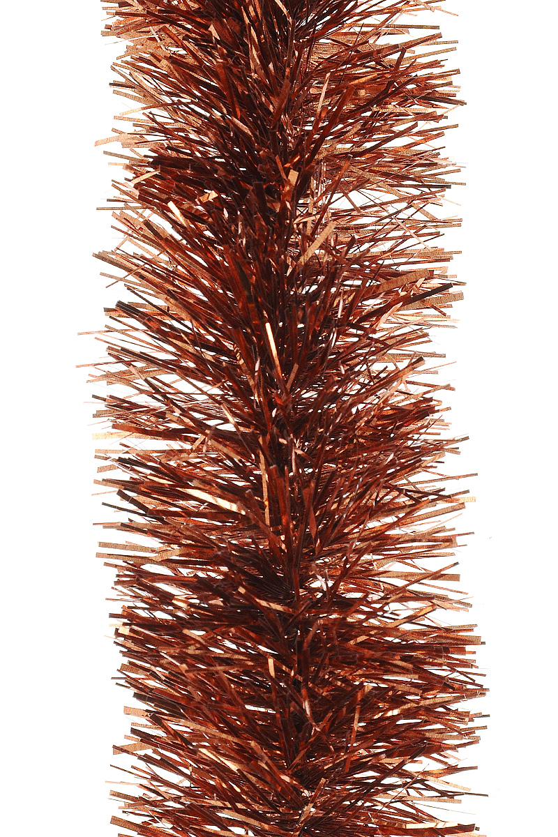 Мишура новогодняя Moranduzzo, цвет: красно-медный, диаметр 5 см, длина 2 м