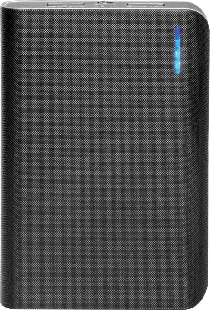 IconBIT FTB8000SP, Black Grey внешний аккумуляторMCI54353Портативный аккумулятор IconBIT FTB8000SP с двумя USB выходами, фонарем и LED индикатором заряда. Подойдет для зарядки мобильных устройств с USB входом: планшетных компьютеров, телефонов, смартфонов. Заряжается от любого зарядного устройства или компьютера с USB портом. Емкость батареи позволяет до 5 раз полностью зарядить смартфон.
