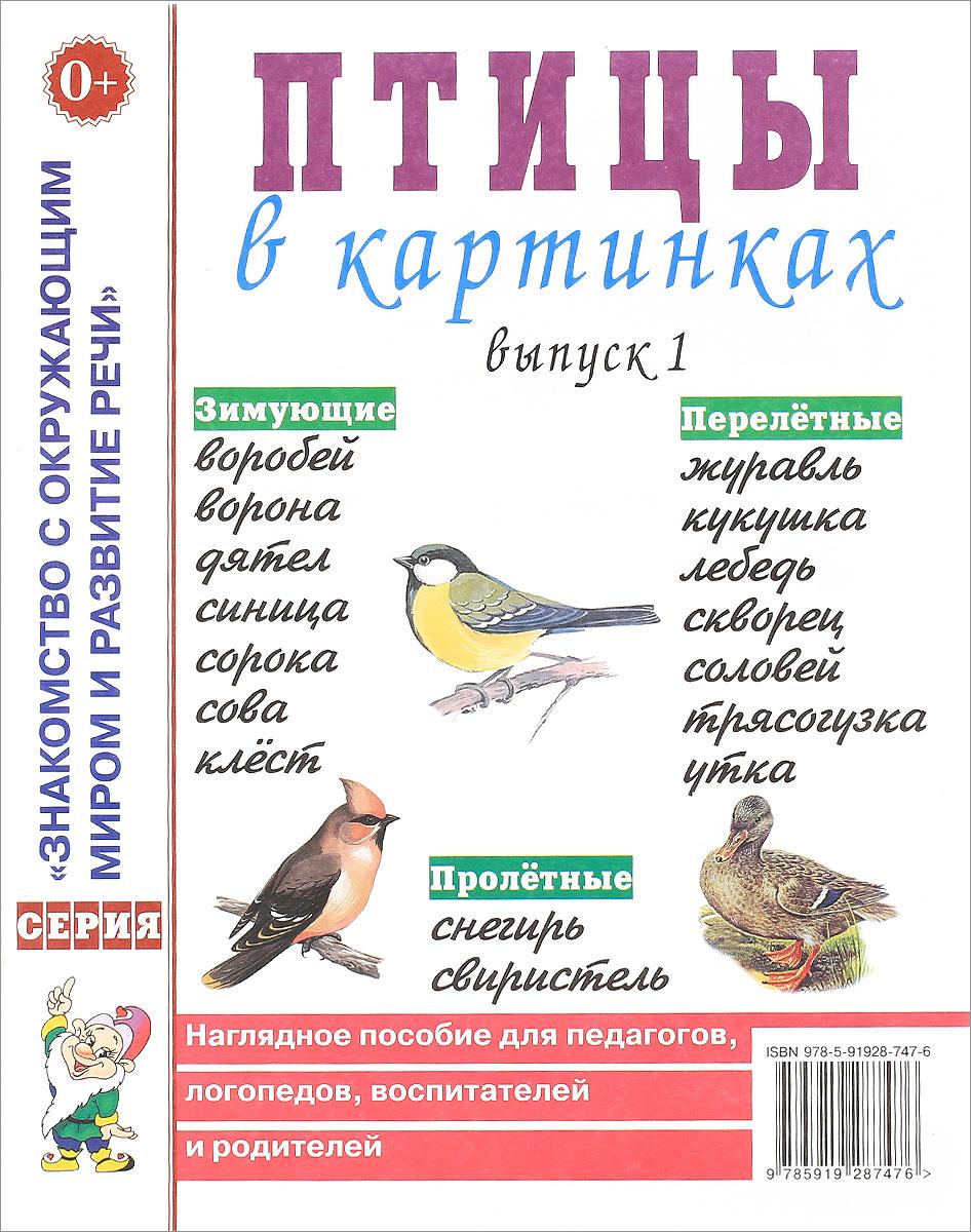 Zakazat.ru: Птицы в картинках. Выпуск 1. Наглядное пособие для педагогов, логопедов, воспитателей и родителей