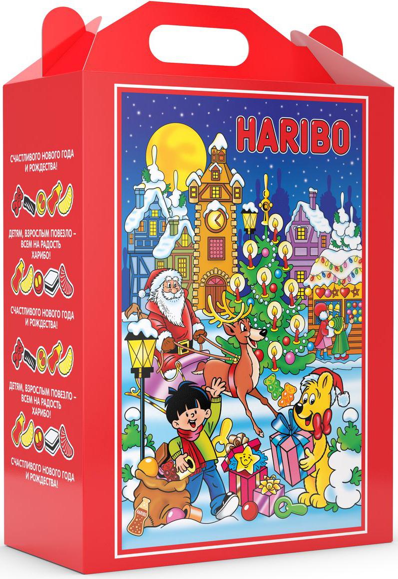 Haribo Сладкий набор Новогодняя Вечеринка, 1965 г81742Если вы хотите устроить самую лучшую новогоднюю вечеринку, для этого вам понадобится набор сладостей от Haribo! В составе набора Джелли Бин, Парочка, Хэппи Кола, Мао Микс, Совята и Лисички. Хватит на всех!