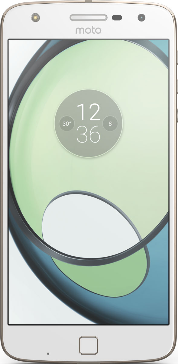 Moto Z Play, White Gold