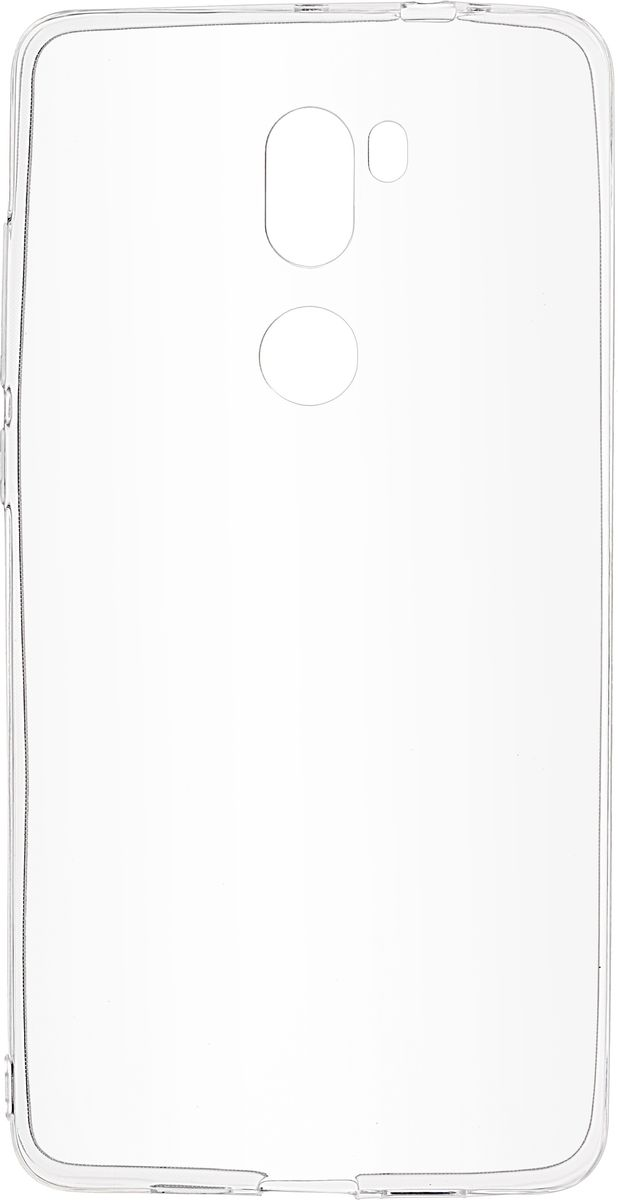 Skinbox Slim Silicone чехол для Xiaomi Mi5S Plus, Clear skinbox slim silicone чехол для huawei p9 plus clear