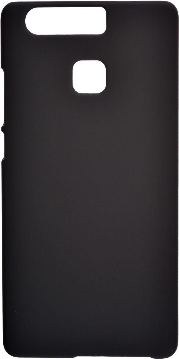 Skinbox 4People чехол для Huawei P9 + защитная пленка, Black2000000106915Чехол Skinbox 4People для Huawei P9 надежно защищает ваш смартфон от внешних воздействий, грязи, пыли, брызг. Он также поможет при ударах и падениях, не позволив образоваться на корпусе царапинам и потертостям. Чехол обеспечивает свободный доступ ко всем функциональным кнопкам смартфона и камере. В комплект идет защитная пленка на экран устройства.