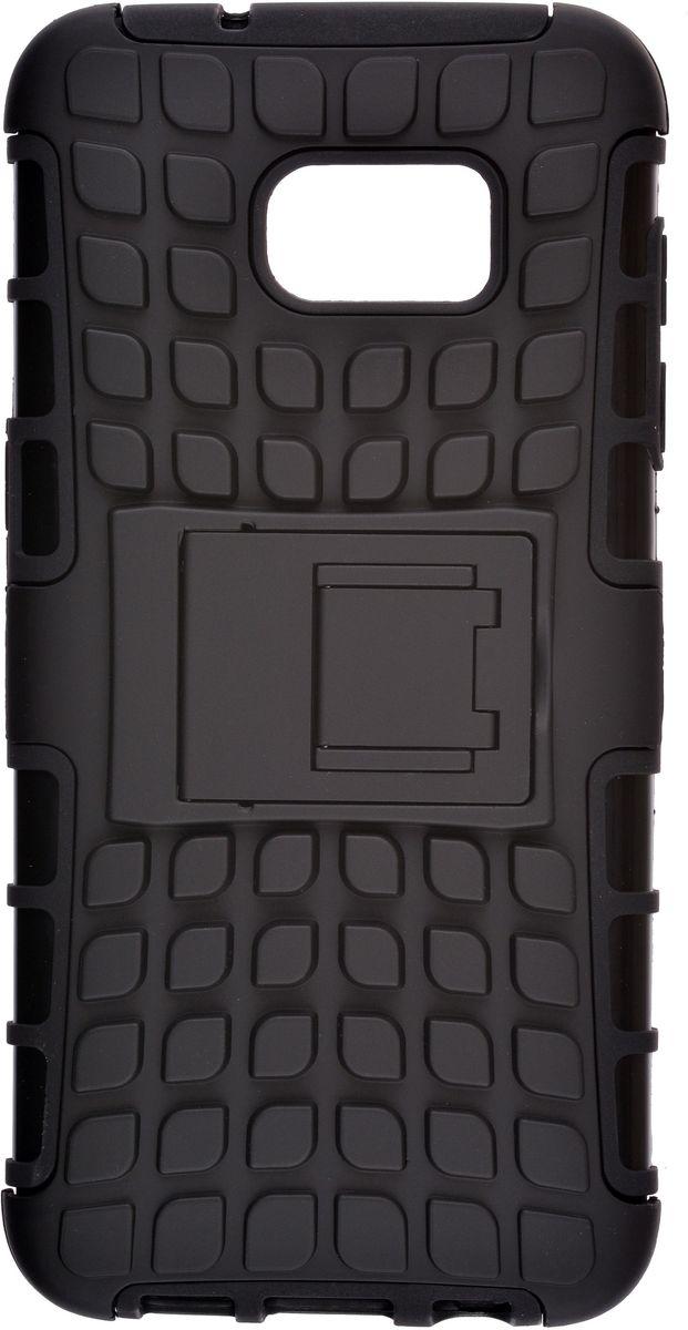 Skinbox Defender case чехол для Samsung Galaxy S7 Edge Injustice, Black2000000111049Чехол-накладка Skinbox Defender Case для Samsung Galaxy S7 Edge бережно и надежно защитит ваш смартфон от пыли, грязи, царапин и других повреждений. Выполнен из высококачественного поликарбоната, плотно прилегает и не скользит в руках. Чехол-накладка оставляет свободным доступ ко всем разъемам и кнопкам устройства.