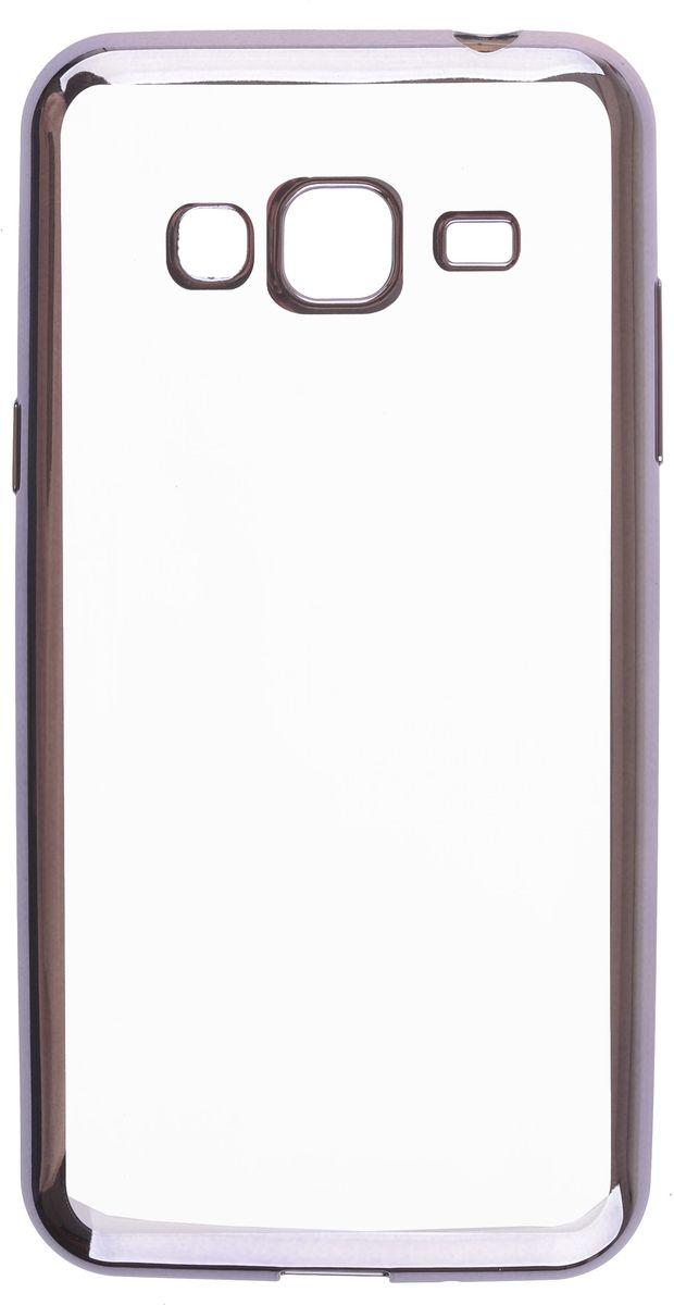 Skinbox Silicone Chrome Border 4People чехол для Samsung Galaxy A3 (2016), Dark Silver2000000105642Чехол-накладка Skinbox Silicone Chrome Border 4People для Samsung Galaxy A3 (2016) бережно и надежно защитит ваш смартфон от пыли, грязи, царапин и других повреждений. Выполнен из высококачественного поликарбоната, плотно прилегает и не скользит в руках. Чехол-накладка оставляет свободным доступ ко всем разъемам и кнопкам устройства.