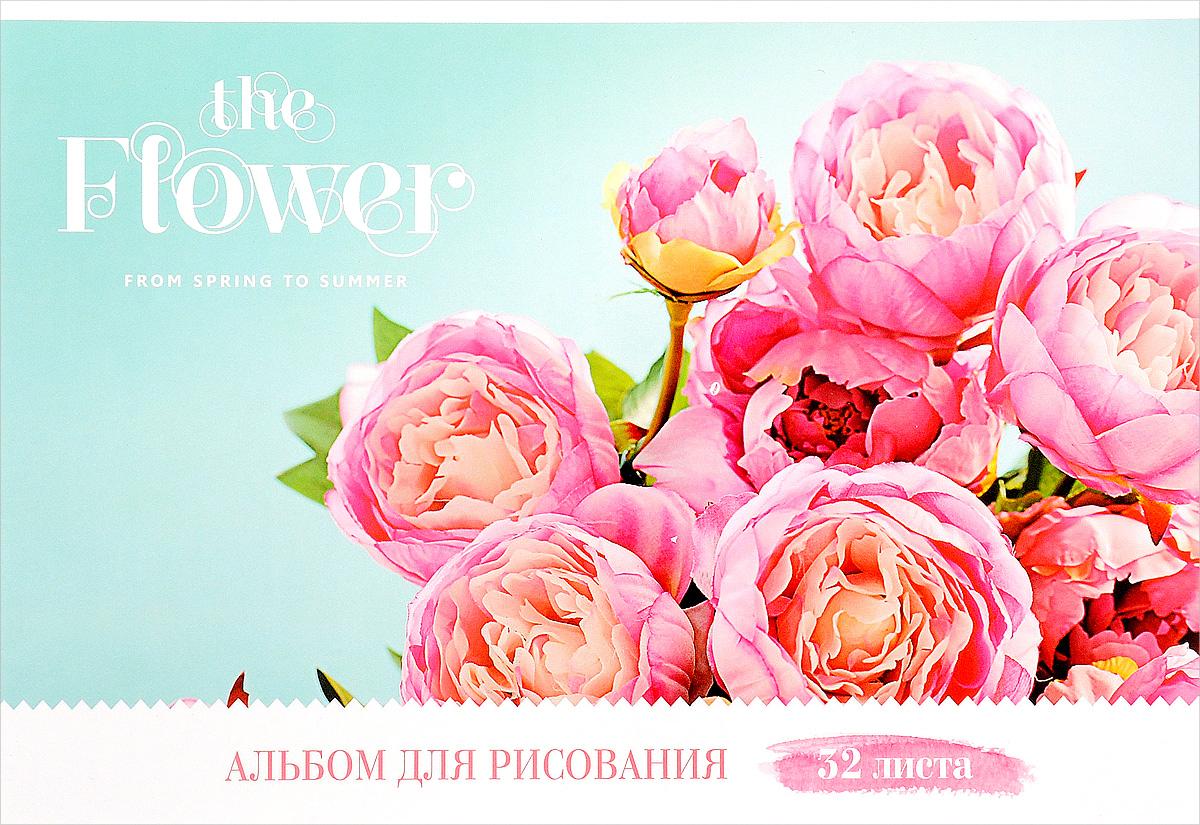 ArtSpace Альбом для рисования Цветы The Flower 32 листаА32ГЛ_9087Альбом для рисования ArtSpace Цветы. The Flower порадует маленького художника и вдохновит его на творчество.Альбом изготовлен из белоснежной бумаги с яркой обложкой из плотного картона.Внутренний блок альбома, соединенный двумя металлическими скрепками, состоит из 32 листов. Высокое качество бумаги позволяет рисовать в альбоме карандашами, фломастерами, акварельными и гуашевыми красками.