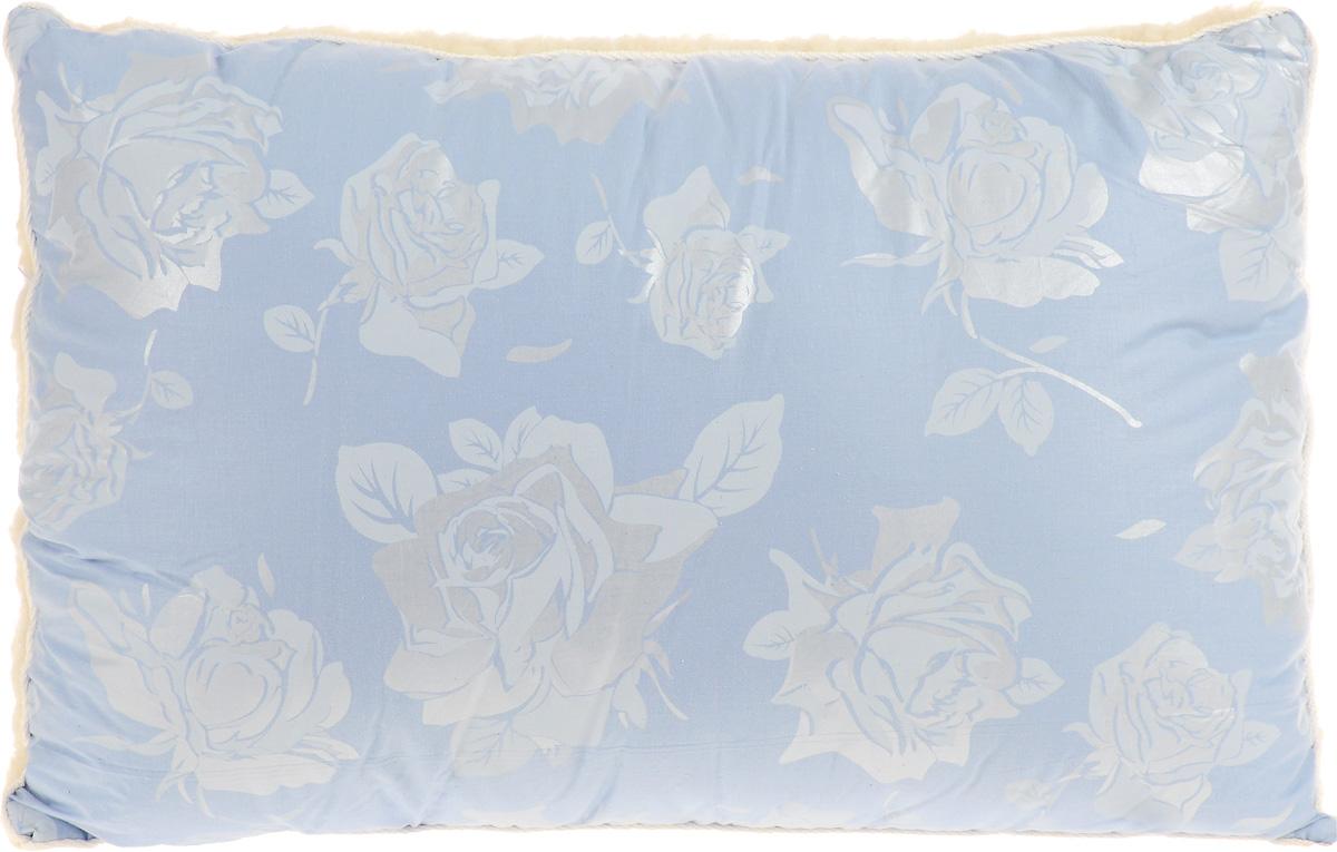 Подушка Smart Textile Лето-зима, наполнитель: бамбуковое волокно, 40 х 60 см подушки smart textile бьюти подушка тик сумка р 40 60 арт st441