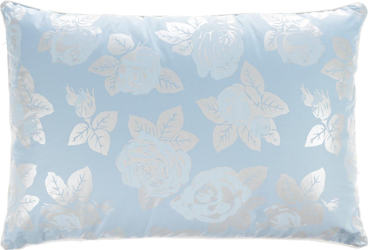 Подушка Smart Textile Лето-осень, наполнитель: лузга гречихи и бамбуковое волокно, 40 х 60 смО654Подушка Smart Textile Лето-осень очень удобная и полезная в использовании. Чехол изделия выполнен из хлопчатобумажной ткани, он устойчив к стиркам и истиранию. Подушка поделена на две секции теплую и прохладную. Прохладная секция наполнена лепестками лузги гречихи. Это уникальный природный наполнитель, придающий подушкам ортопедические свойства, прекрасно пропускает и вентилирует воздух, что препятствует созданию парникового эффекта - идеально для жаркого времени года. Тёплая секция наполнена бамбуковым волокном, мягким и теплым, обладающим свойством благотворно влиять на здоровье кожи. Уникальность обоих наполнителей, исходя из их природных свойств, в том, что ни в одном ни в другом не заводятся паразиты и пыль, они абсолютно экологичны и гипоаллергенны.И жарким летом и прохладной осенью подушка Smart Textile способствует не только комфорту, но и сохранению здоровья.