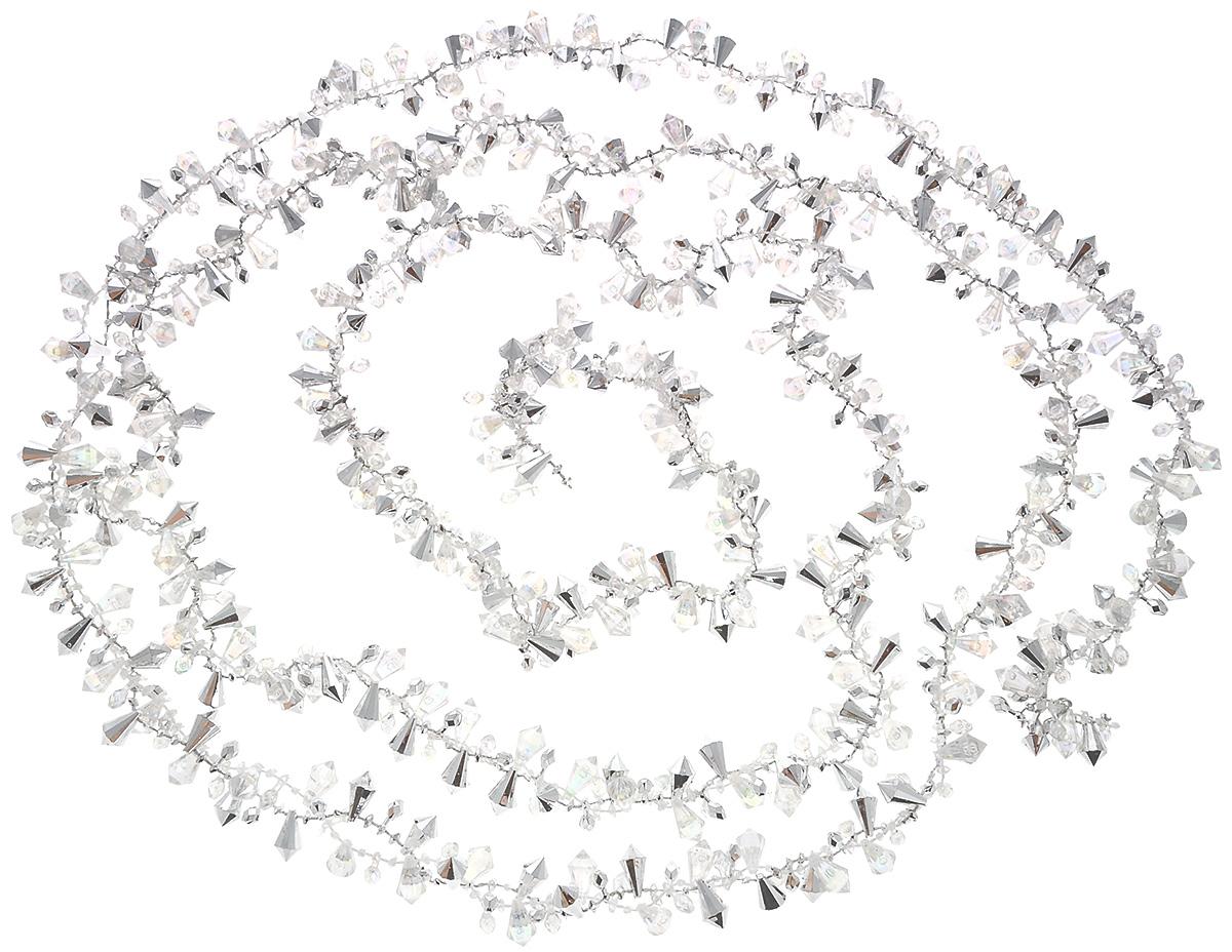 Гирлянда новогодняя Lovemark Кристаллы, длина 2,7 мSC1007S-CABНовогодняя гирлянда Lovemark Кристаллы, выполненная из пластика и текстиля, украсит интерьер вашего дома или офиса в преддверии Нового года. Оригинальный дизайн и красочное исполнение создадут праздничное настроение. Новогодние украшения всегда несут в себе волшебство и красоту праздника. Создайте в своем доме атмосферу тепла, веселья и радости, украшая его всей семьей.Общая длина гирлянды: 2,7 м.