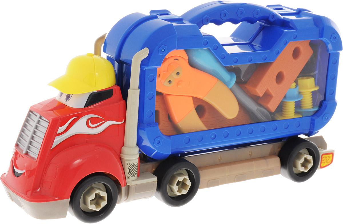 Boley Игровой набор Грузовик Смелый гонщик с инструментами аксессуары для кукол boley игрушка boley корона серия холодное сердце