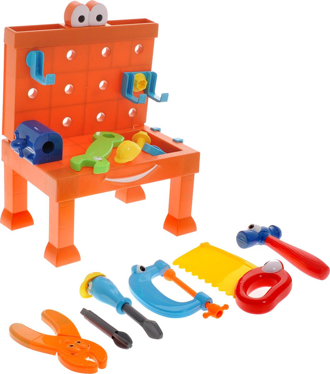 Boley Игровой набор Мастерская с рабочим столом пилой и гаечным ключом аксессуары для кукол boley игрушка boley корона серия холодное сердце