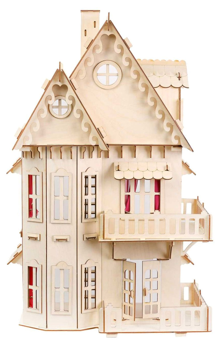Большой Слон Кукольный домик кукол домик