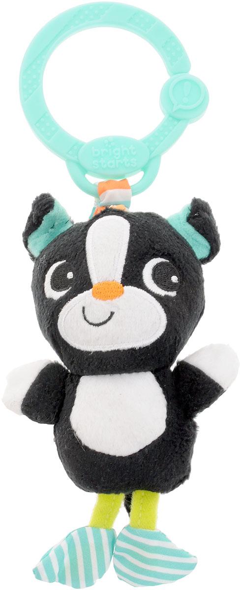 Bright Starts Игрушка-подвеска Дрожащий дружок Котик большую мягкую игрушку собаку лежа в москве