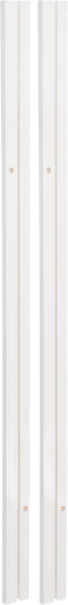 """Однорядный составной шинный карниз """"Эскар"""", выполненный из пластика, подходит для штор любого типа. Такой вид карнизов прост по  конструкции (шины и бегунки) и будет практически не заметен. Способ крепления потолочный.  Помимо практичности, шинный карниз обладает рядом других преимуществ: при открытии и закрытии штор он создает минимум шума. Такой  карниз также является водостойким, что позволяет использовать его в ванной комнате и на балконе. Он подойдет для любых видов штор, за  исключением очень тяжелых тканей.  В комплекте - 2 части карниза, 24 крючка, аксессуары для крепления."""