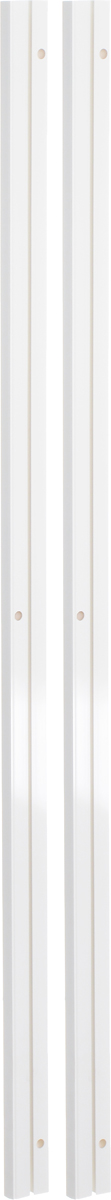 Карниз шинный Эскар, составной, однорядный, с аксессуарами, цвет: белый, длина 2,4 м270007240Однорядный составной шинный карниз Эскар, выполненный из пластика, подходит для штор любого типа. Такой вид карнизов прост по конструкции (шины и бегунки) и будет практически не заметен. Способ крепления потолочный. Помимо практичности, шинный карниз обладает рядом других преимуществ: при открытии и закрытии штор он создает минимум шума. Такой карниз также является водостойким, что позволяет использовать его в ванной комнате и на балконе. Он подойдет для любых видов штор, за исключением очень тяжелых тканей. В комплекте - 2 части карниза, 24 крючка, аксессуары для крепления.