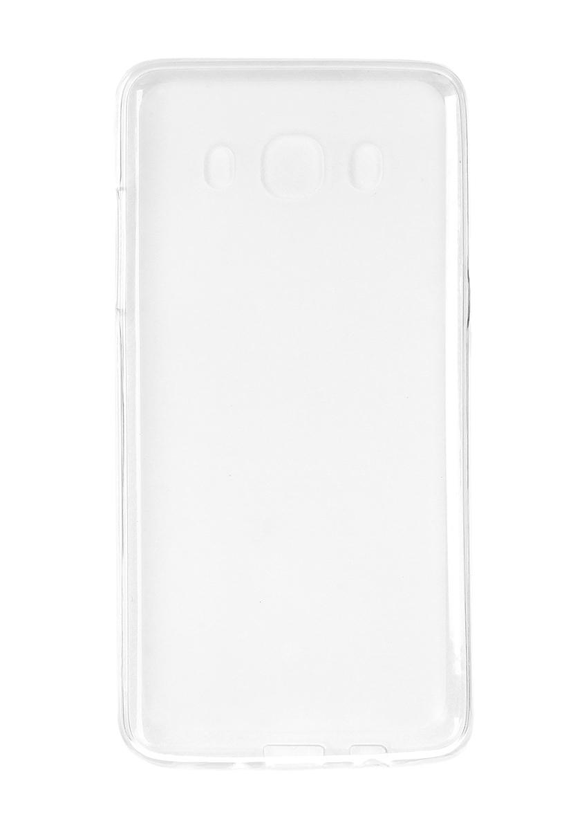 Pulsar Clipcase TPU чехол для Samsung Galaxy J5 2016, White21896Чехол Pulsar Clipcase TPU для Samsung Galaxy J5 (2016) бережно и надежно защитит ваш смартфон от пыли, грязи, царапин и других повреждений. Выполнен из высококачественных материалов, плотно прилегает и не скользит в руках. Чехол оставляет свободным доступ ко всем разъемам и кнопкам устройства.