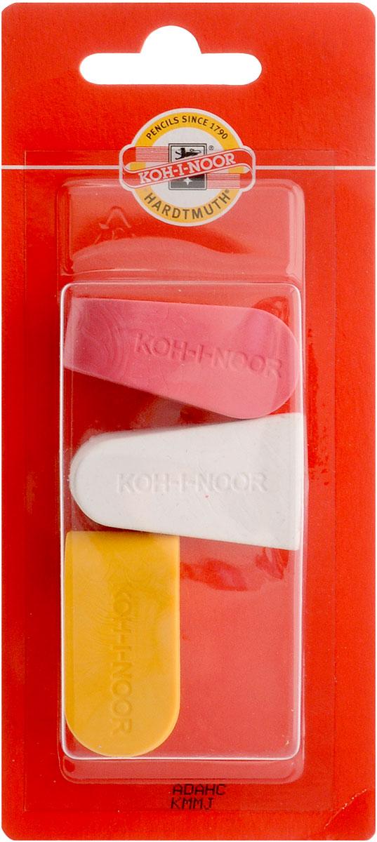 Koh-i-Noor Набор ластиков цвет красный белый желтый 3 шт6222_красный, белый, желтыйЛастики Koh-i-Noor идеально подходят для применения как в школе, так и в офисе.Ластики обеспечивают высокое качество коррекции, не повреждают поверхность бумаги, даже при сильном трении не оставляют следов.Абсолютно безопасны, не токсичны и экологичны.В упаковке 3 ластика.