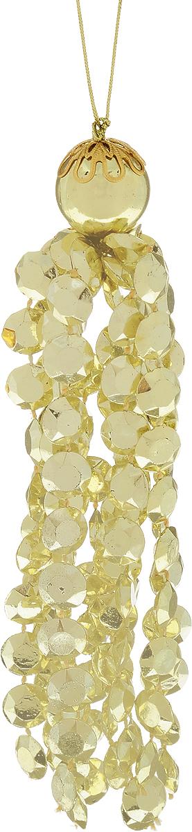 Украшение новогоднее подвесное Lovemark Кисть, цвет: золотой, длина 15,5 смSC1163GНовогоднее подвесное украшение Lovemark Кисть выполнено из пластика и текстиля. С помощью специальной петельки украшение можно повесить в любом понравившемся вам месте. Но, конечно, удачнее всего оно будет смотреться на праздничной елке.Елочная игрушка - символ Нового года. Она несет в себе волшебство и красоту праздника. Создайте в своем доме атмосферу веселья и радости, украшая новогоднюю елку нарядными игрушками, которые будут из года в год накапливать теплоту воспоминаний.