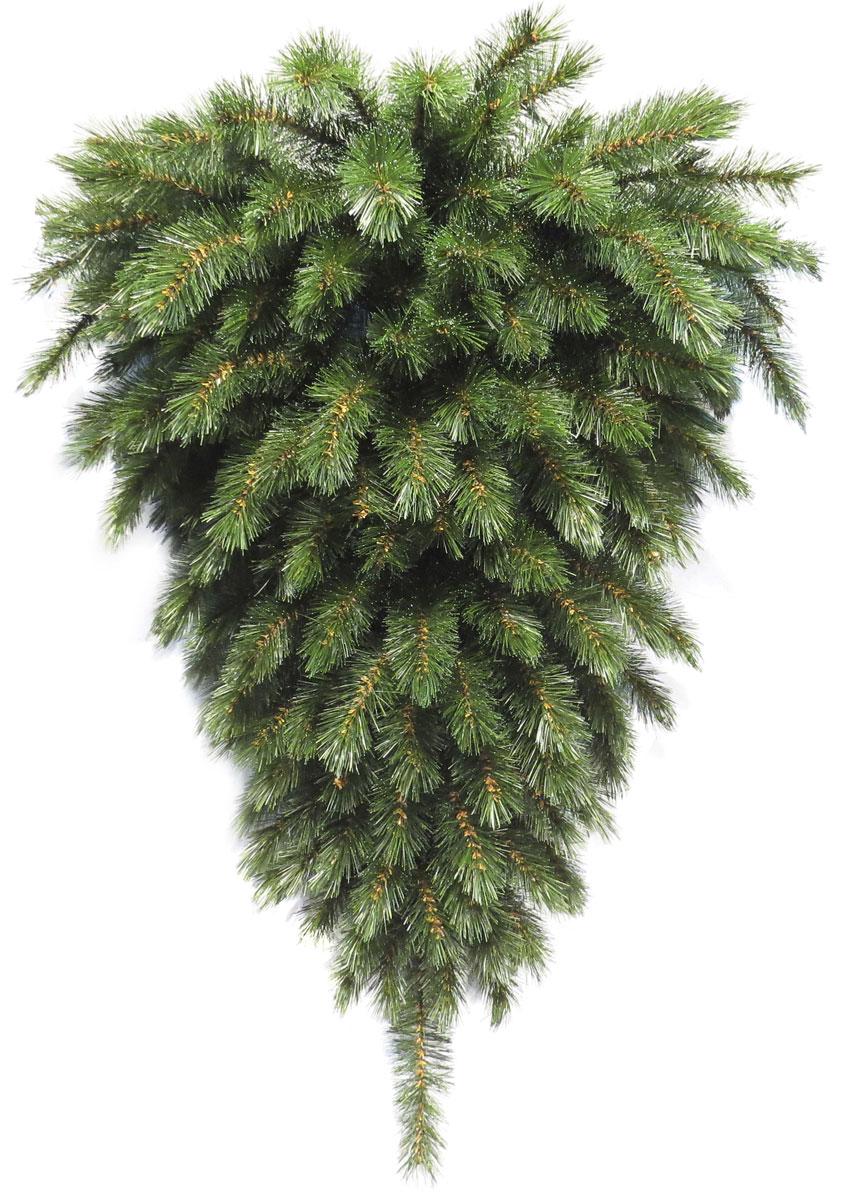 Ель искусственная Triumph Tree Лесная красавица, перевертыш, цвет: зеленый, высота 90 см73112(1016037)Искусственная пристенная ель Лесная красавица, выполненная из ПВХ - прекрасный вариант для оформления вашего интерьера к Новому году. Такие деревья абсолютно безопасны для самых непоседливых малышей, удобны в сборке и не занимают много места при хранении. Ель быстро и легко устанавливается и имеет естественный и абсолютно натуральный вид, отличающийся от своих прототипов разве что совершенством форм и мягкостью иголок. Изделие можно прикрепить к стене. Еловые иголочки не осыпаются, не мнутся и не выцветают со временем. Полимерные материалы, из которых они изготовлены, не токсичны и не поддаются горению.Ель Лесная красавица обязательно создаст настроение волшебства и уюта, а так же станет прекрасным украшением дома на период новогодних праздников.Высота: 90 см.