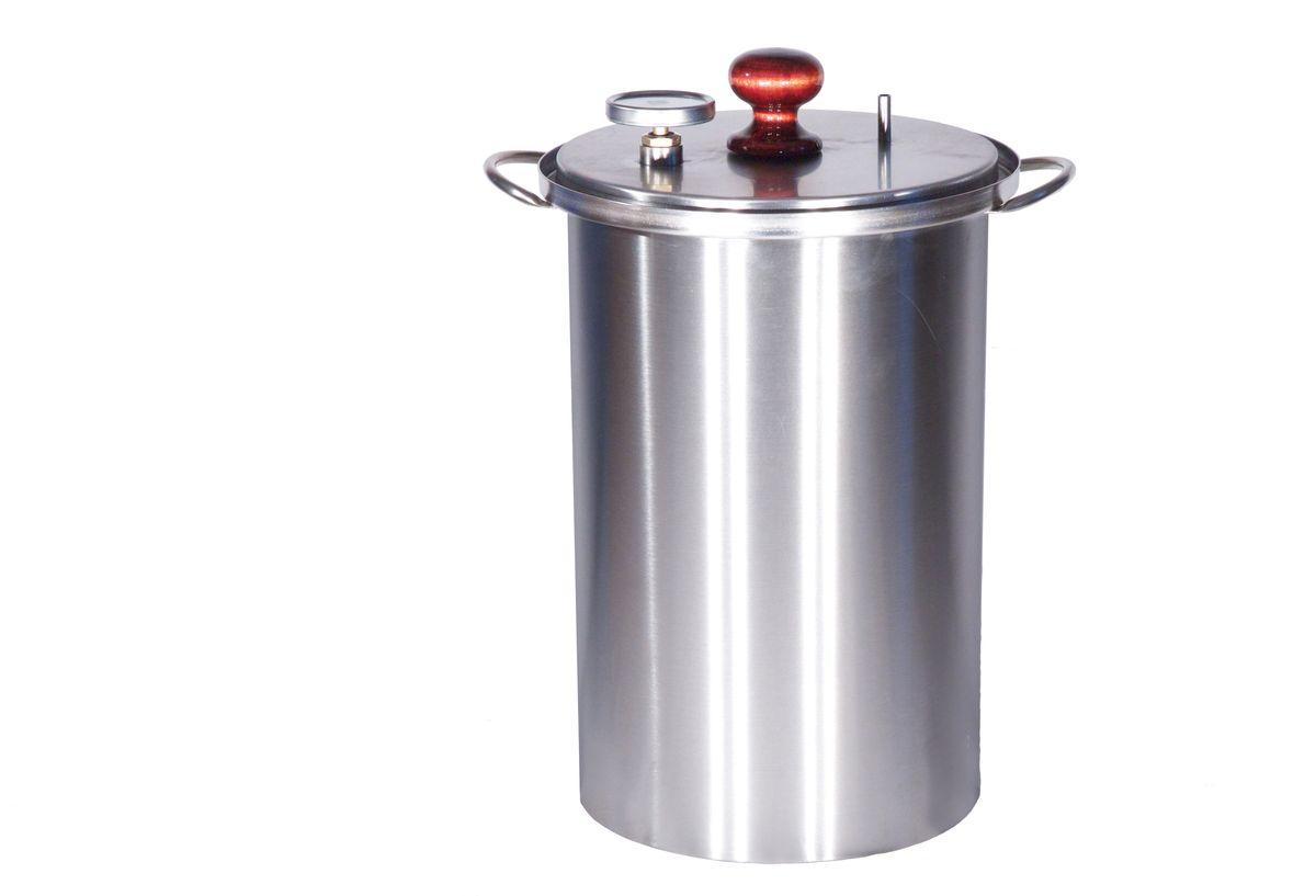 Коптильня с гидрозатвором BG Master Smoke XL455363Коптильня предназначена для копчения рыбы, мяса, курицы в домашних условиях на любом типе кухонных плит. Благодаря гидрозатвору обеспечивается герметичность и отсутствие запаха на кухне. Образующийся в результате копчения дым выводится в атмосферу с помощью силиконового дымоотвода. Среднее время приготовления продукта 60 минут.Тип копчения: горячее.Материал: пищевая нержавеющая сталь 12X17(AISI 430)ГОСТ 5632-72