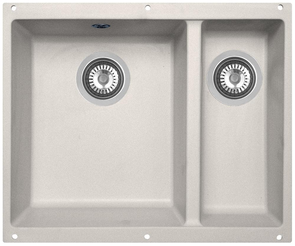 Мойка кухонная Zigmund & Shtain, подстольная, 2 чаши, цвет: осенняя трава. integra5002integra5002Zigmund & Shtain INTEGRA 500.2, кухонная мойка с подстольной установкой , иск.гранит, 2 чаши, глубина-19см-основн.13 см-доп. форма- прямоугольная, , Цвет Осенняя трава