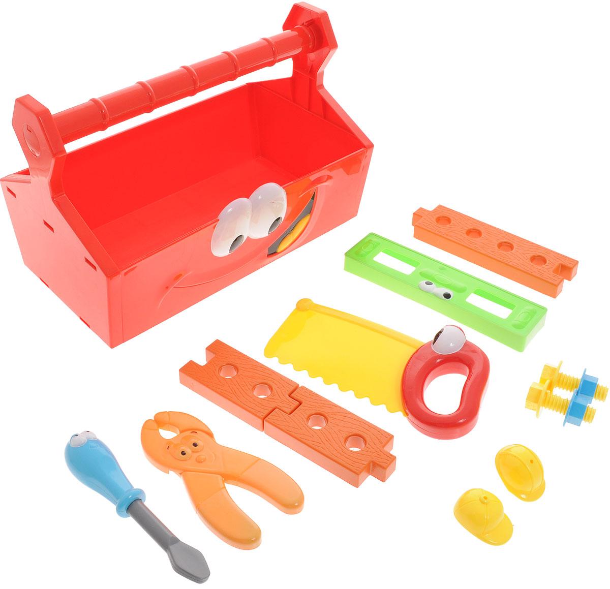 Boley Игровой набор Инструменты с ящиком аксессуары для кукол boley игрушка boley корона серия холодное сердце