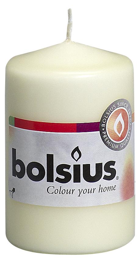 Свеча Bolsius, цвет: кремовый, высота 8 см103613200105Свеча Bolsius выполнена из парафина в классическом стиле. Ее можно поставить в любое место и она станет ярким украшением интерьера. Свеча Bolsius создаст незабываемую атмосферу, будь то торжество, романтический вечер или будничный день.