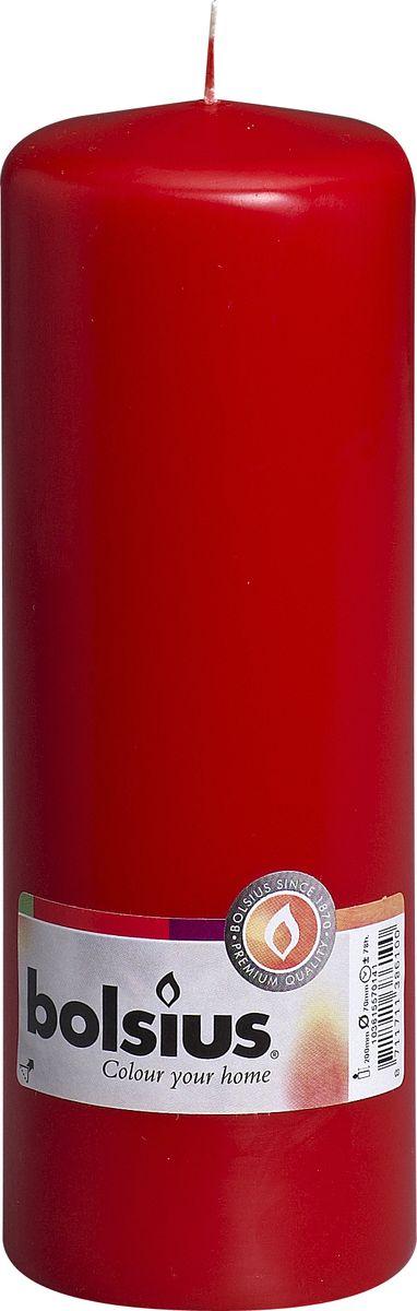 """Ароматизированная свеча """"Bolsius"""", изготовлена из парафина. Изделие отличается оригинальным дизайном и приятным ароматом. Такая свеча не только поможет дополнить интерьер вашей комнаты, но и станет отличным подарком. Диаметр - 7 см.  Высота - 20 см."""