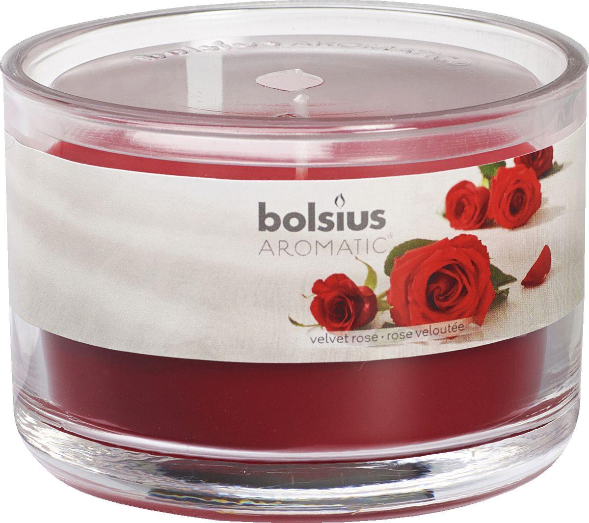 Свеча ароматизированная Bolsius Роза, высота 6,3 см свеча ароматизированная bolsius роза высота 12 см
