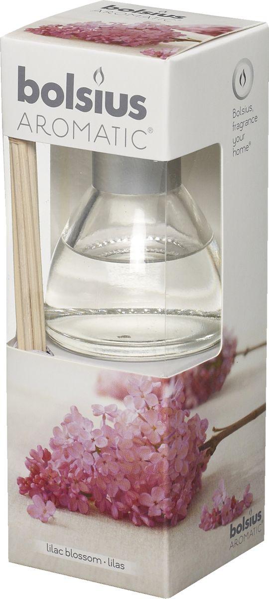 """Ароматический диффузор """"Bolsius"""" - это простое, изящное и долговременное решение, как наполнить дом или офис приятным запахом.  Диффузор - это не просто освежитель воздуха, а элемент декора, который окутает вас своим приятным и нежным ароматом. Отлично подойдет в качестве подарка. Способ применения: поместите палочки в вазу с ароматической жидкостью. Степень интенсивности запаха может регулироваться объемом ароматической жидкости и количеством палочек. Товар сертифицирован."""