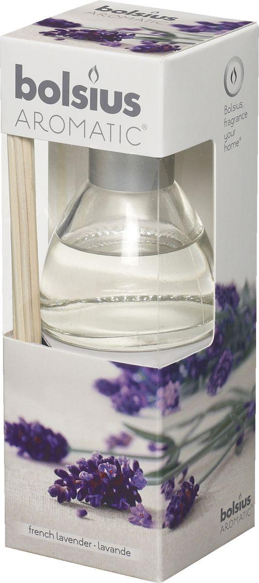Диффузор ароматический Bolsius Лаванда, 45 мл103626800477Ароматический диффузор Bolsius - это простое, изящное и долговременное решение, как наполнить дом или офис приятным запахом.Диффузор - это не просто освежитель воздуха, а элемент декора, который окутает вас своим приятным и нежным ароматом. Отлично подойдет в качестве подарка. Способ применения: поместите палочки в вазу с ароматической жидкостью. Степень интенсивности запаха может регулироваться объемом ароматической жидкости и количеством палочек. Товар сертифицирован.