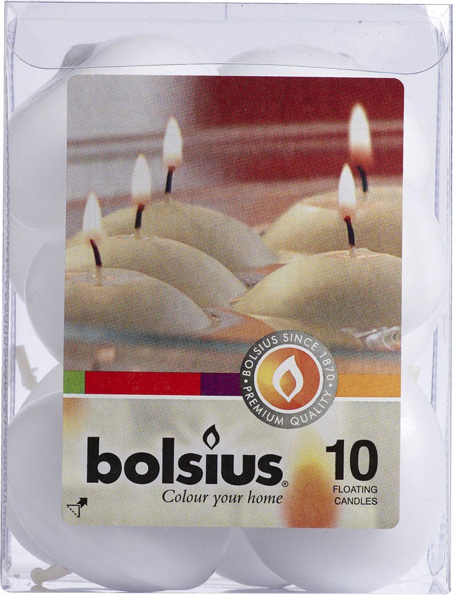 Набор декоративных свечей Bolsius, цвет: белый, 10 шт103632052202Набор Bolsius состоит из 10 декоративных свечей, изготовленных из парафина. Такие свечи создадут атмосферу таинственности и загадочности и наполнят ваш дом волшебством и ощущением праздника. Хороший сувенир для друзей и близких.