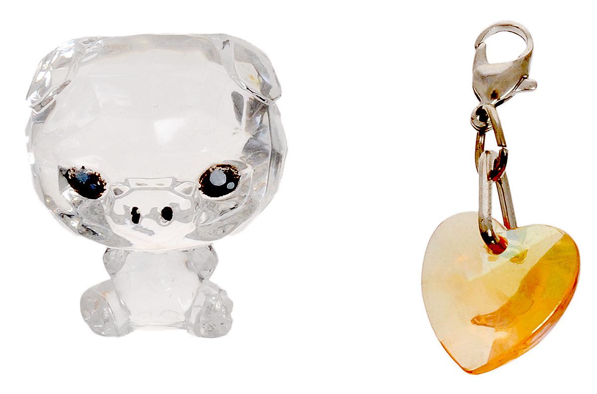 все цены на Crystal Surprise Фигурка Поросенок Zing цвет прозрачный