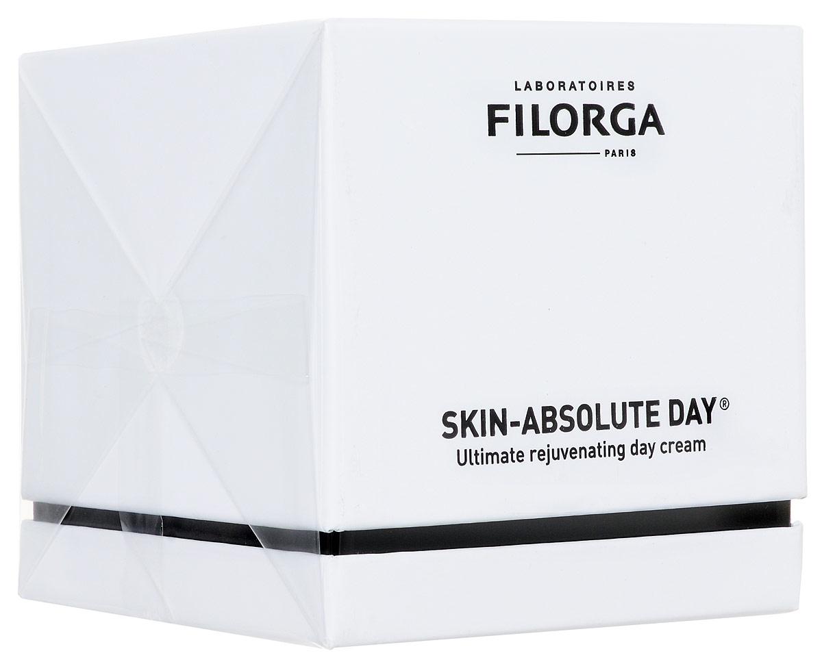 Filorga Дневной крем Skin-Absolute, совершенное антивозрастное средство, 50 млDCGP043Инновация: использование энергии света для стимулирования работы клеток идействия против старения. Отличие: защита от инфракрасного излучения.Преимущество: мгновенный результат, комплексное воздействие, для всехтипов кожи.Дневной крем Skin-Absolute активизирует внутренние восстановительныепроцессы в дерме. Восстанавливающий фермент фотолиаз, активирующийся подвоздействием дневного света, запускает механизмы восстановления ДНК,корректируя признаки старения и сдерживая в корне сам процесс старениякожи.Уникальная люминесцентная текстура, обогащенная гиалуроновой кислотой икомплексом NCTF, активно увлажняет и восстанавливает упругость кожи.Комбинированное действие микронизированного Белого сапфира ирастительного экстракта, богатого фруктанами и обладающего свойствамидетоксикации, выравнивает тон лица и восстанавливает сияние кожи.Специальные ферменты (экстремозимы), способные преобразовывать вэнергию ультрафиолетовое и инфракрасное излучение, стимулируют работуклеток, замедленную процессом старения.Эффективность:83% Гладкая кожа*.80% Кожа более плотная*.70% Кожа более упругая*.77% Цвет лица однородный*.77% Кожа сияет*.70% Микрорельеф кожи выровнен*.* Клинический тест на 30 пациентах, 30 дней применения.