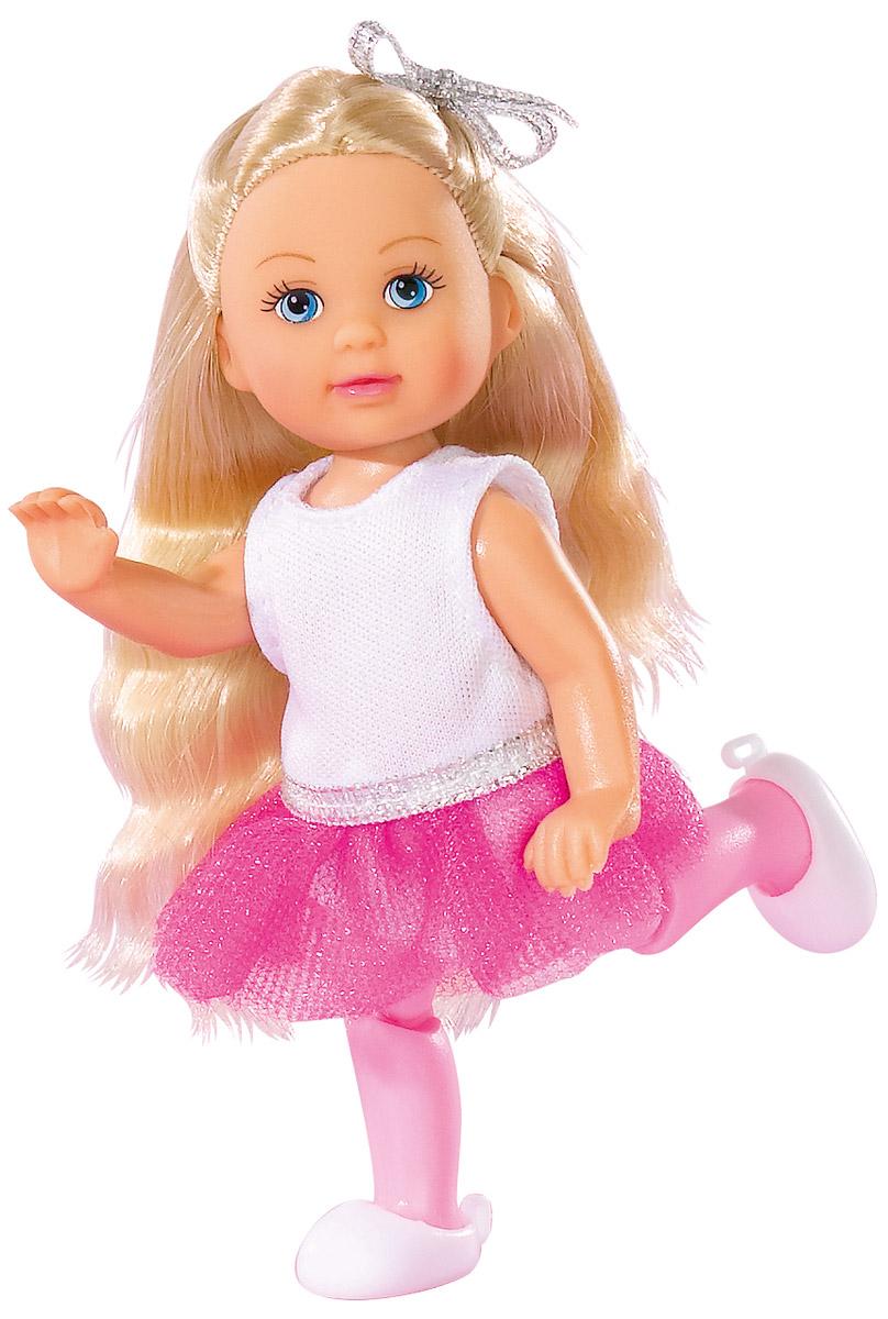 Simba Мини-кукла Еви-балерина цвет майки белый simba игровой набор с мини куклой evi love fairy carriage